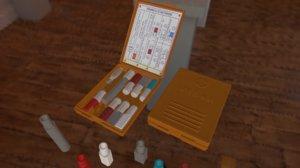 3D individual medkit