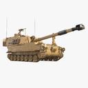 self-propelled howitzer 3D models