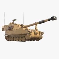 M109A6 Paladin Tank