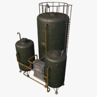 industrial tank type 1 3D