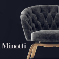 3D chair winston model