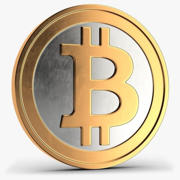 bitcoin 1 3D