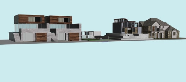 3D hous lowpoly model