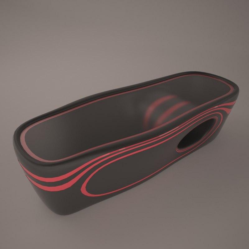 organic table 3D model