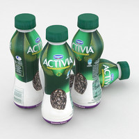 Dairy Bottle Danone Activia Dried Plum 300g