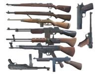 WW2 GUNS USA GERMANY RIFLES PISTOLS