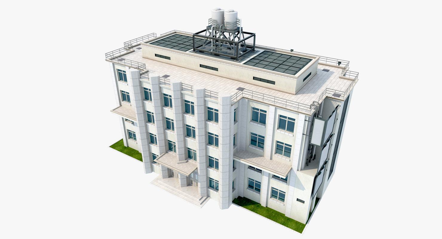 building 2 3D model