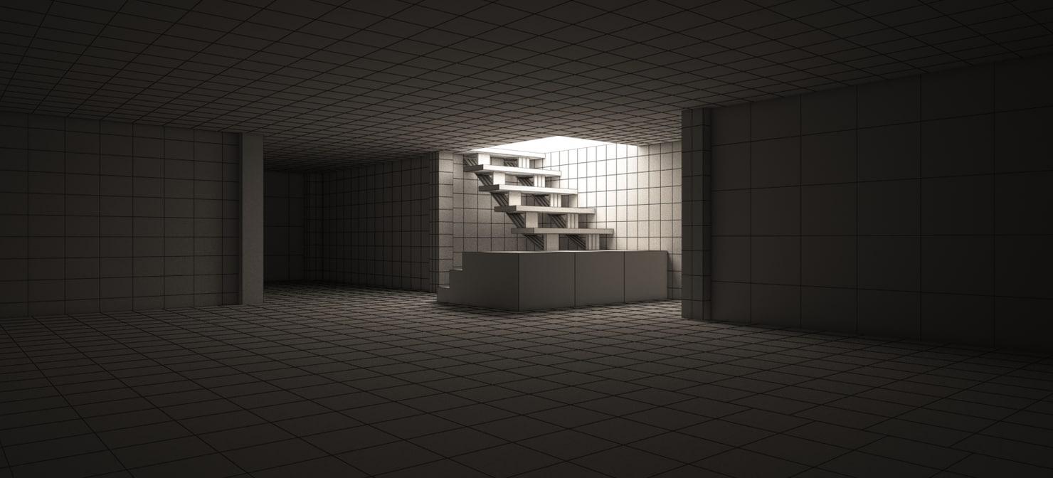 rowland home basement 2017 3D model