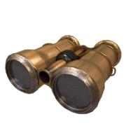 3D modeled binoculars