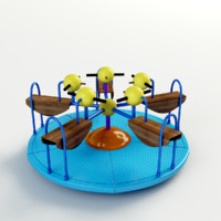 Little duck merry go round