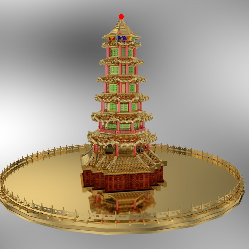 tower chinese model