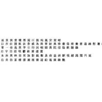 ms mincho font chinese 3D model