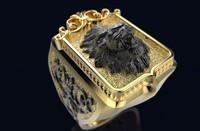 Gold Ring R 214 3D print model