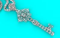 3D model necklace gold 184 print