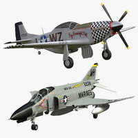 F-4  & P-51 Collection