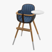 3D model chair ovo micuna