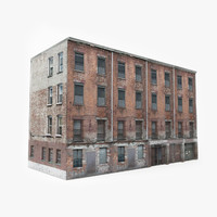 ready old building games 3D model