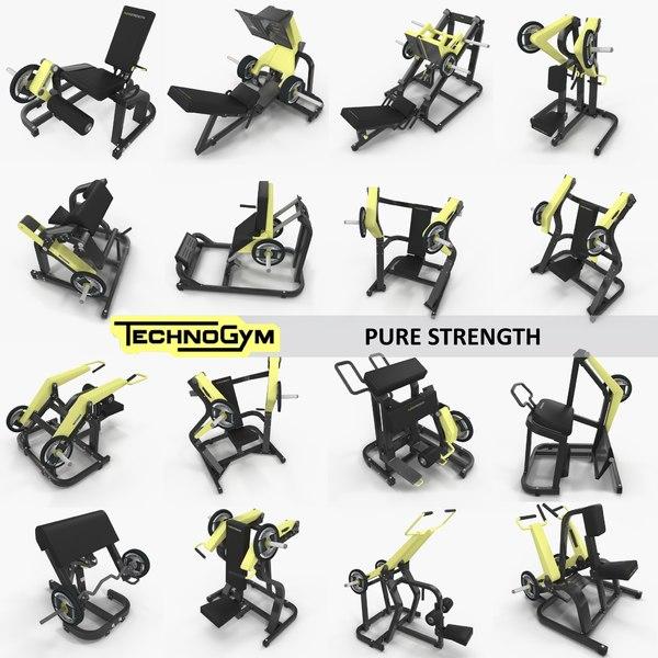 3D pure gym set 17