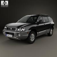 Hyundai Santa Fe (SM) 2004