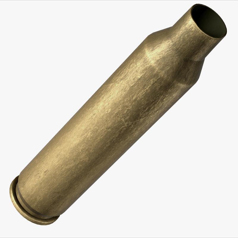 rifle shell grungy model