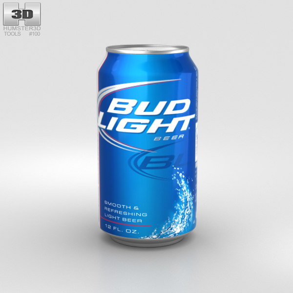 3D beer bud budlight