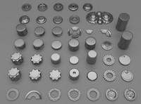 45 gears and machine parts
