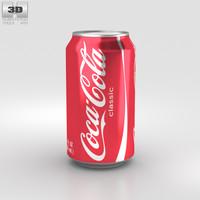 3D coca-cola coca cola model