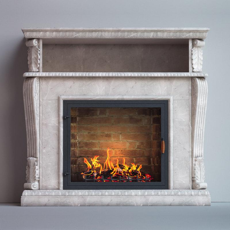 fireplace corifa 3D