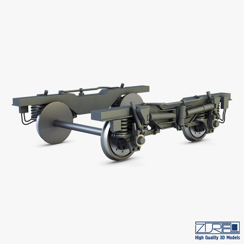 3D speed train chassis v