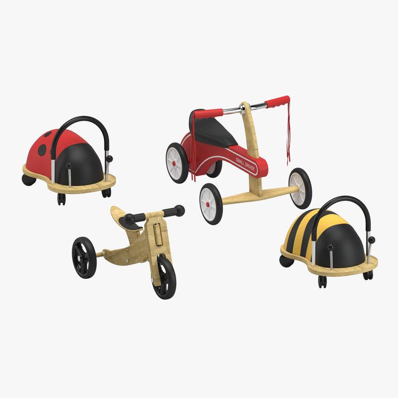 toy ride 3D model