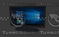 lg monitor 3D model