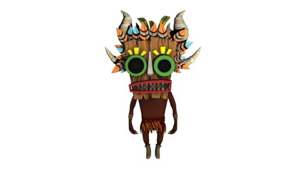 mask 3D model