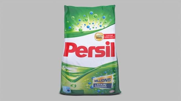 washing powder bag 3D model