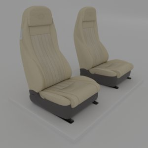 3D bentley seat le model