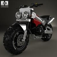 caterham brutus 750 3D model