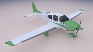 3D model sr22 panels