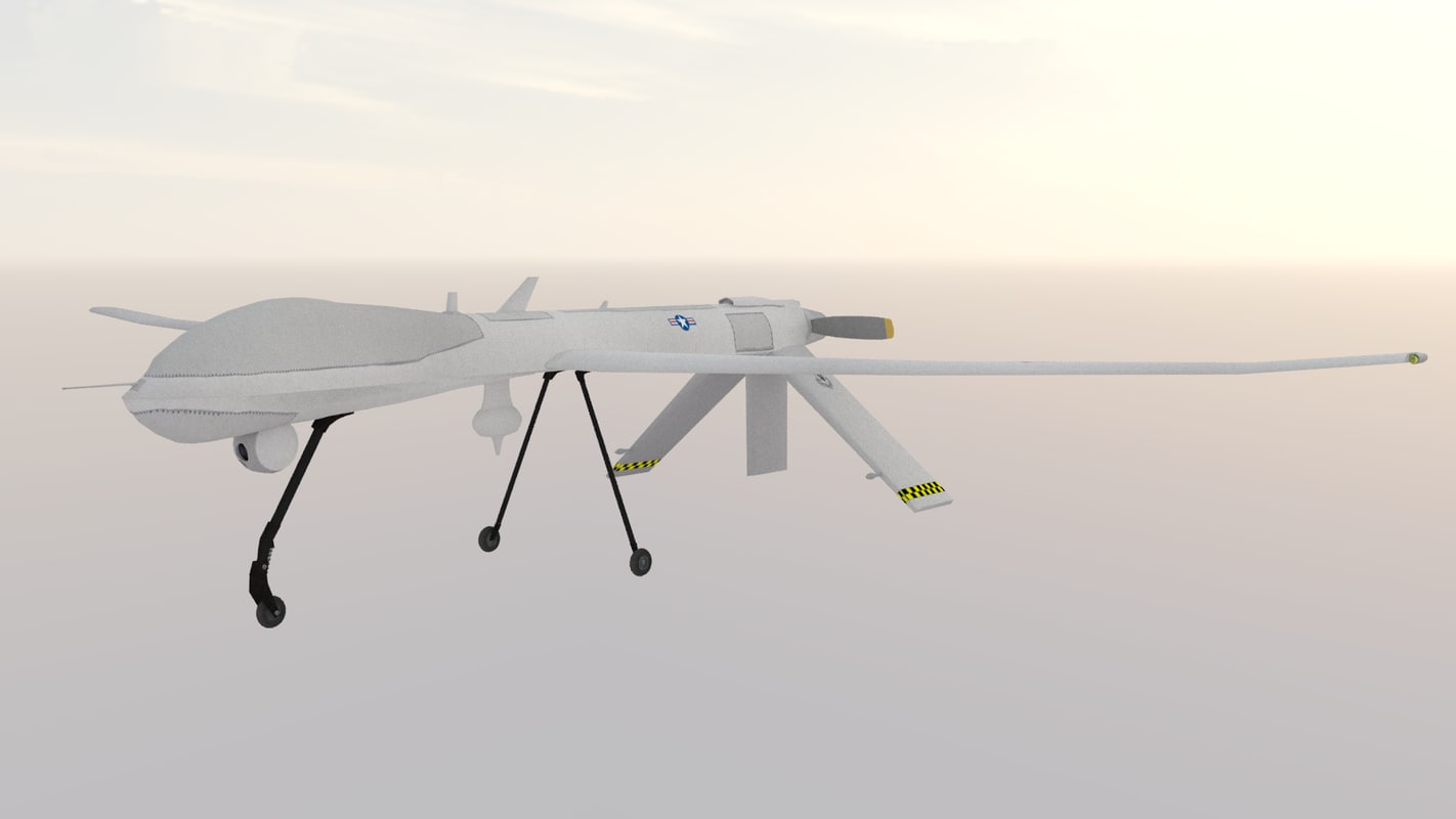 3D rq-1a predator model