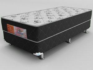 3D single mattress