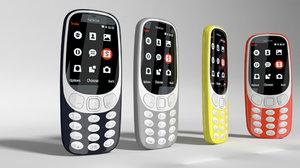 3D 3310 model