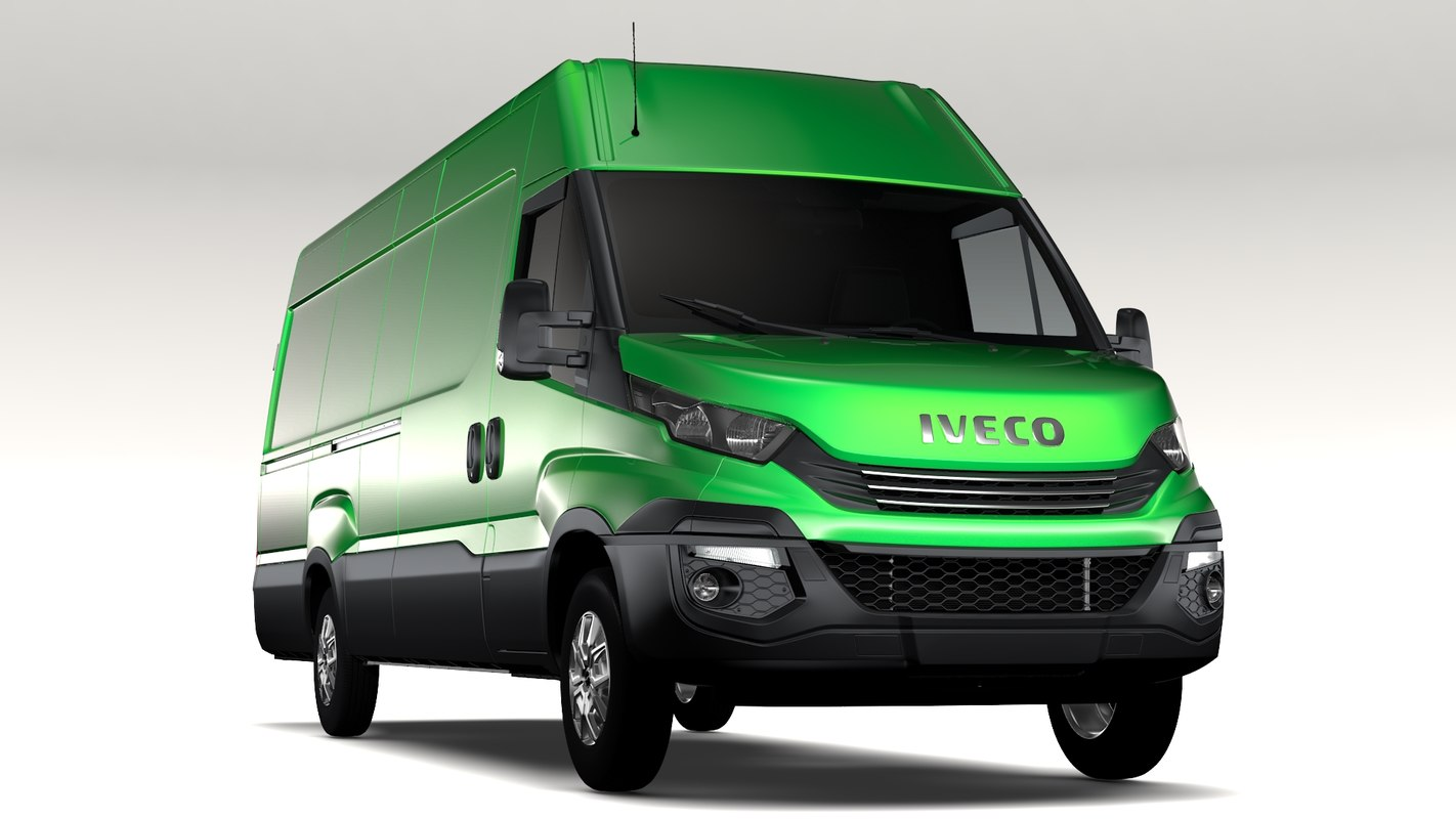 3D iveco daily l4h2 2017