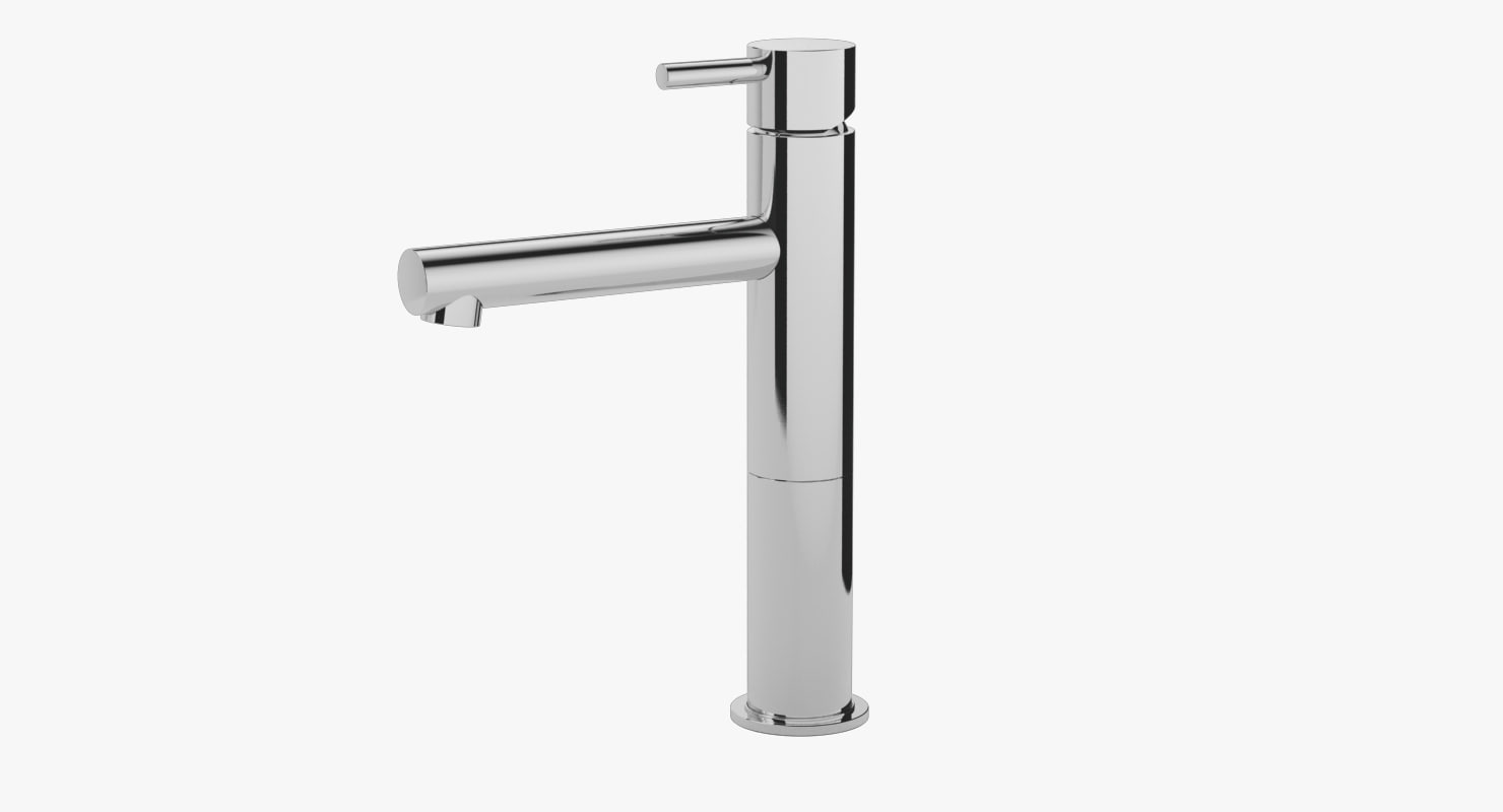 3D bathroom faucet model