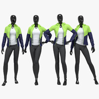 Female fitness sport suit