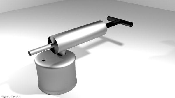 3D pest sprayer model