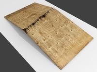 3D broken plywood