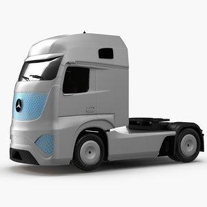 mercedes benz truck 3D