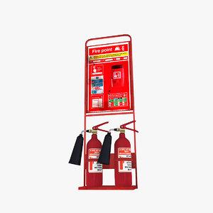 3D props: extinguisher