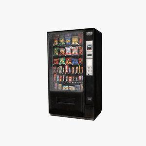 props: vending machine 3D model