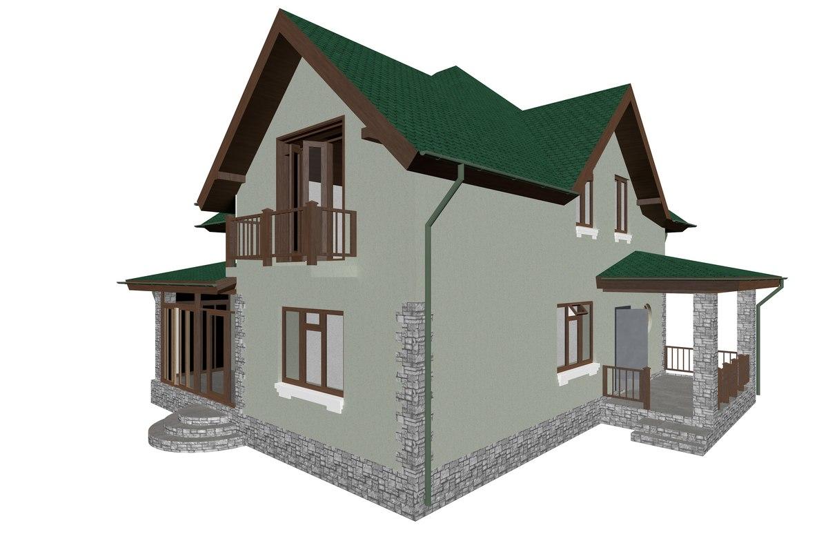 3D house klgd
