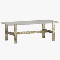 3D table 130 model