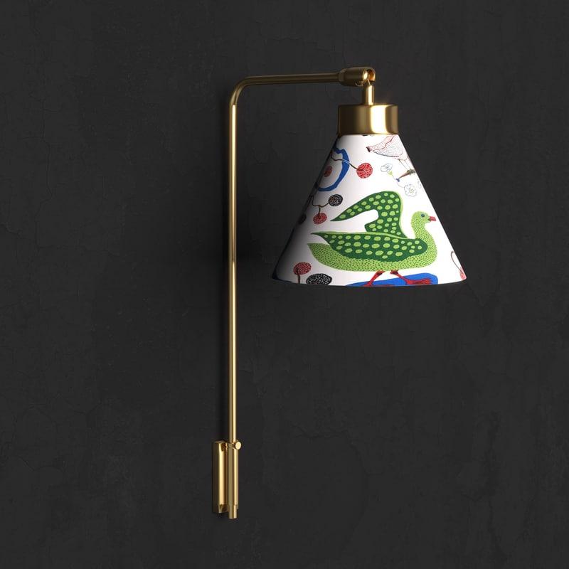 wall lamp 2484 3D